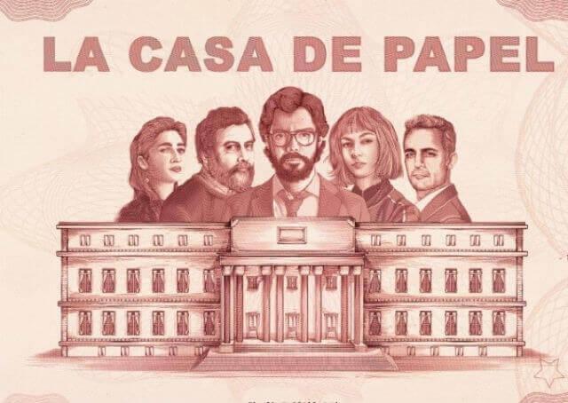 A Netflix anunciou hoje, quarta feira dia 18 04 2018, que a série espanhola LA CASA DE PAPEL ganhará novos episódios