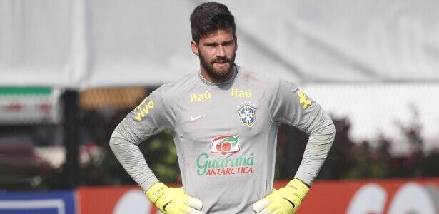 Alisson Roma ITA tite na convocacao de jogadores selecao brasileira copa russia 2018