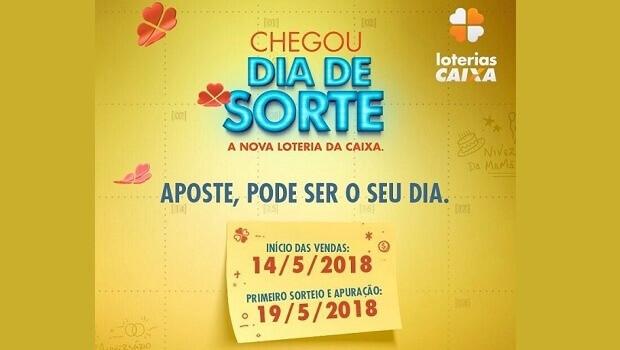 caixa lança dia da sorte nova loteria com 3 sorteios na semana suricato