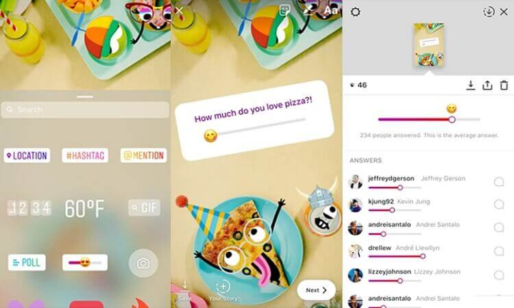 stories do instagram tem nova enquete como emojis suricato digital