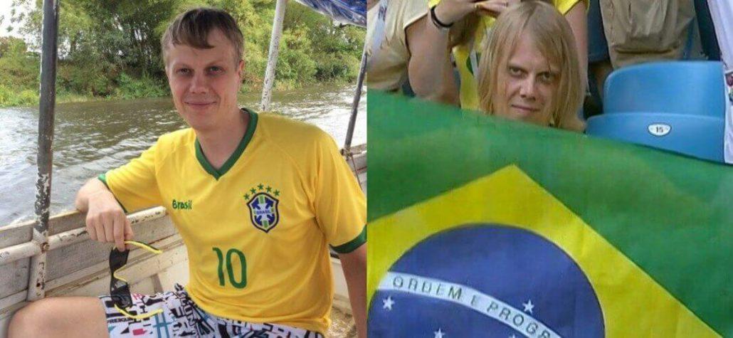 Russo que virou meme é convocado pela CBF para acompanhar Brasil contra Bélgica 06 07 2018 suricato