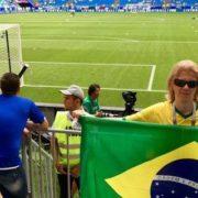 Russo que virou meme é convocado pela CBF para acompanhar Brasil contra Bélgica no estádio