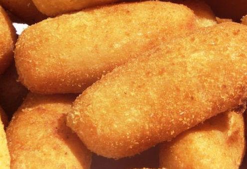 deliciosa receita de croquete de queijo