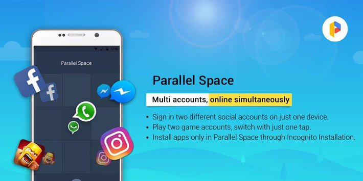 como ter duas contas do whatsapp no mesmo smartphone com parallel space